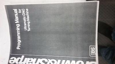 Brown And Sharpe Ultramatic Cnc Programing Manual