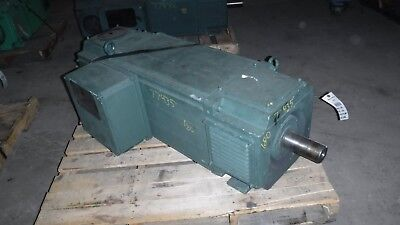 250 HP DC ABB Electric Motor, 1750 RPM, 180U Frame, DPFV,  500 V
