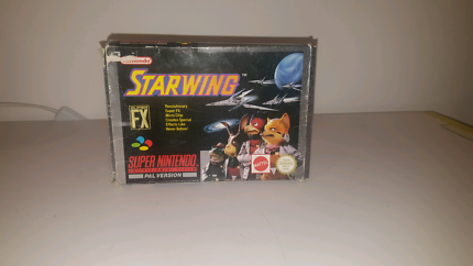 Starwing Snes Boxed