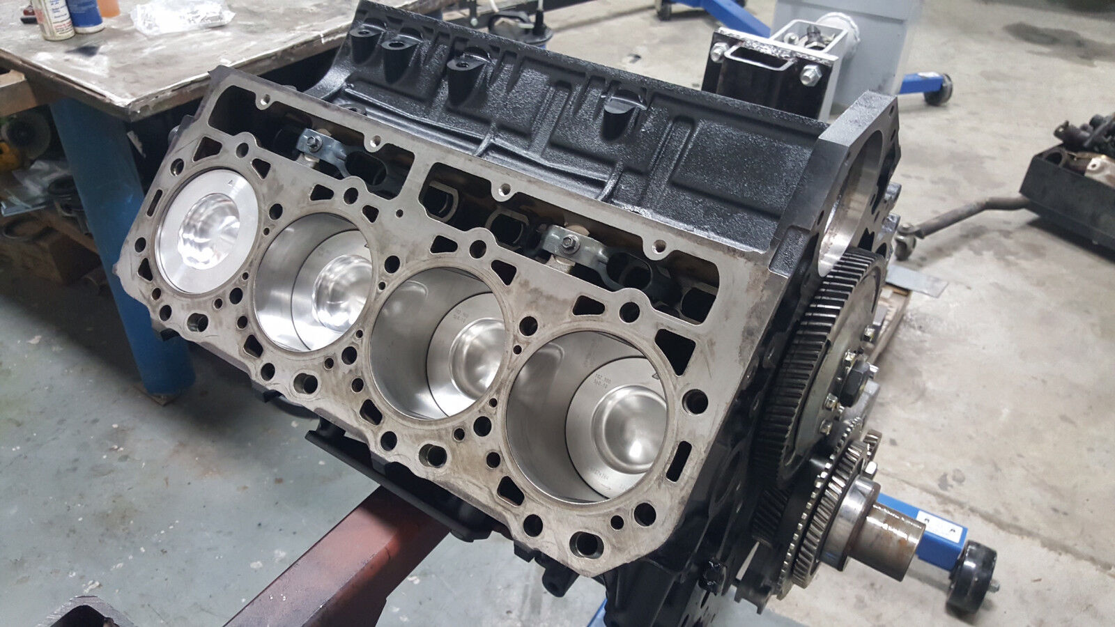 Lbz Arp Head Studs Basement Wall Gm Duramax Sel Engine 5 Of 11 Reman 6 Long Block Lmm