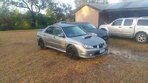 2006 Subaru WRX Sedan Black Forest Unley Area Preview