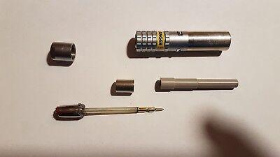 H3 100 Stueck Blau metallisch Kunststoff Kabelbinder fuer Cello Lutscher Suessig