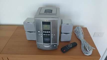 TEAC Stereo System with Remote - 4 speakers - 50W