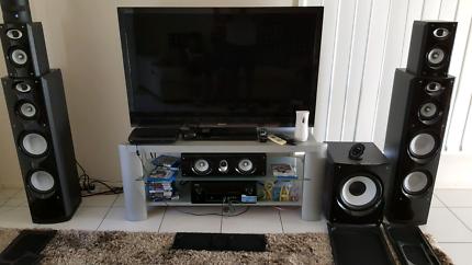 Tauris Audio 5.1 home theatre speakers