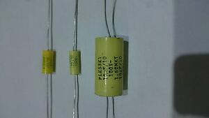 1 X condensatore capacitor mkt 0,1uf (100n) 250V - Italia - 1 X condensatore capacitor mkt 0,1uf (100n) 250V - Italia