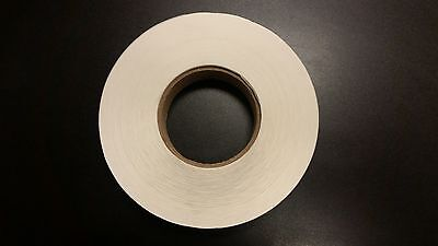 1 Inch Clear Circle Wafer Seal Tabs 5 Roll Of 5000 Labels