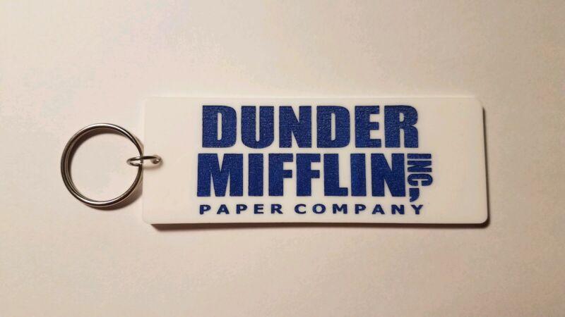 Dunder Mifflin the office inspired keychain key chain