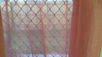 10 x Sheer curtains. Colour:Pink Brassall Ipswich City Preview