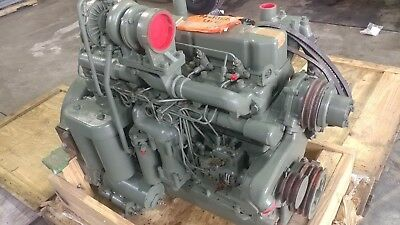 1973 Allis Chalmers 3500 Diesel Engine 0 Miles Govt Rebuilt In 2003 California