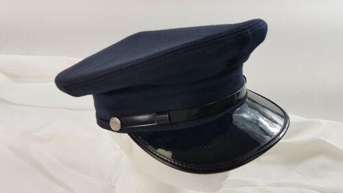 Vintage Canada Fireman Hat Visor Cap Fire Department TRISTAR Vancouver Headware