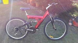Kent suspension mountain bike