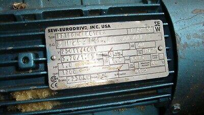 Sew Eurodrive Usa 1 Hp Gear Brake Motor