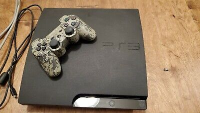 Sony PlayStation 3 Slim 160GB Charcoal Black Console -  tested