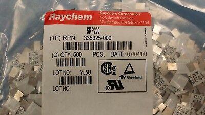 10 Pcs Srp200 Raychem Ptc Resettable Fuse 100a 30v Switch