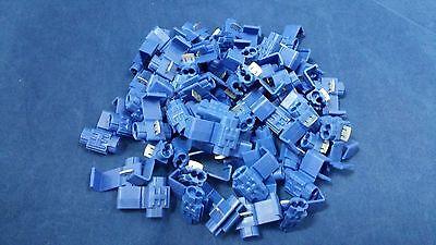 16-18 Gauge Scotch Lock Blue 100 Pk Crimp Terminal Awg Ga Connector Car Suv
