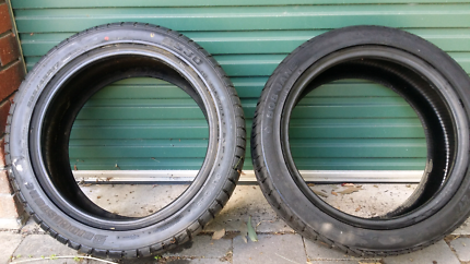 2 x 17 inch tyres