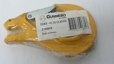Gunnebo 38 Grade 100 Egkn-10-10 Classic Sling Hook Z100909 W Latch