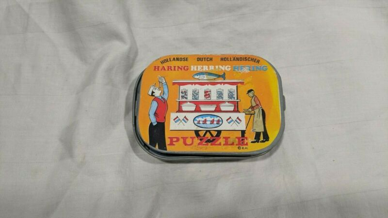 Hollandse Dutch Hollandischer Haring Herring Hering Puzzle No 7001