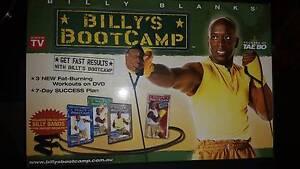 Tae Bo Billys Boot Camp DVD Set Salisbury East Salisbury Area Preview