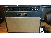 """Tuki Padded Amp Cover for Line 6 DT-25 Amplifier Head 1//2/"""" Foam line052p"""