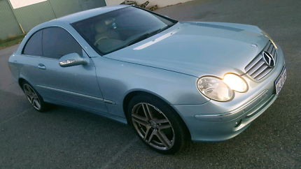 2004 Mercedes-Benz CLK240 C209 Avantgarde 5 Speed Automatic Coupe