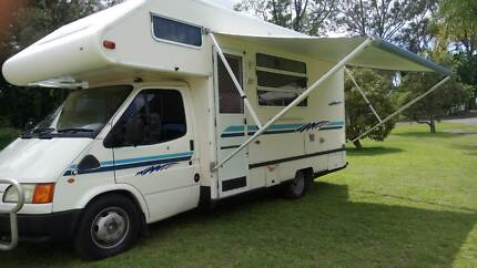 Motorhome- Ford Transit 5 berth Marmong Point Lake Macquarie Area Preview