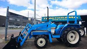 MITSUBISHI 25HP TRACTOR/ WITH NEW OZ-QUIP ( 4:1 SPLIT BUCKET ) FEL Welshpool Canning Area Preview