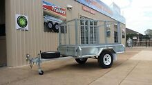 7x4 GALVANISED Cage Trailer ON SALE! Para Hills West Salisbury Area Preview
