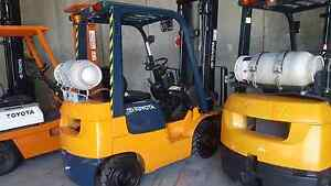 Toyota forklift sale 1.5 1.8 2.5 gas electric petrol Wetherill Park Fairfield Area Preview
