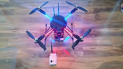 Professionally Built Carbon Fiber 550 mm Quadcopter ARF Fresh Price Drop