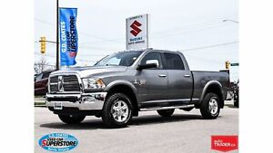 2011 Ram 3500 Laramie Crew 4x4 Diesel ~Nav ~Backup Cam ~Leather