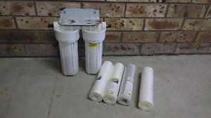Double water Filter Heddon Greta Cessnock Area Preview