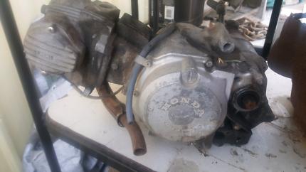Honda CT 110 engine