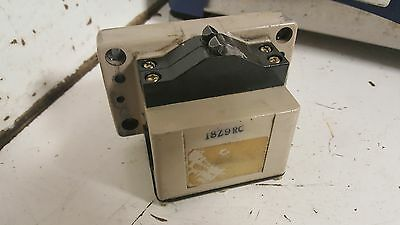 Omron Limit Switch, 2 Position, D4MB- ???, 10A-250VAC, Used, Warranty