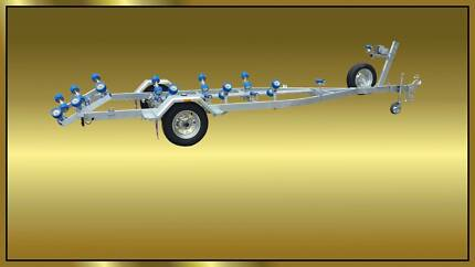 6mt Boat Trailer with Multi Rollers- Heavy Duty Galvanised Glenorchy Glenorchy Area Preview