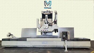 Snk Fsp-120v 5 Axis Cnc Profiler 120 X 50 Mill Vertical Machining Center Fanuc