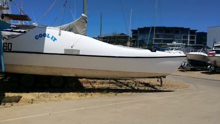 Seawind 24 catamaran with trailer