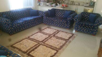 Blue modern couches  Auburn Auburn Area Preview