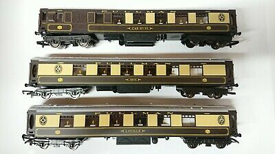"""Hornby OO Gauge 3 Pullman Coaches """"Ibis"""", """"CAR No. 93"""" & """"Lucille"""" NEW/Unboxed"""