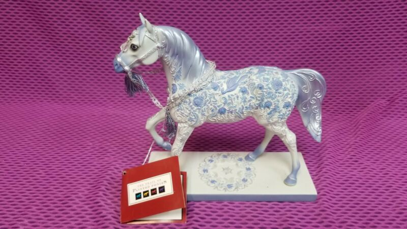 TRAIL OF PAINTED PONIES CRYSTAL RETIRED MIB