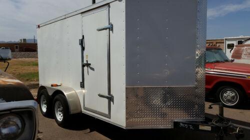 2009 FREEDOM 6x12 Enclosed Cargo Trailer Tandem Axle