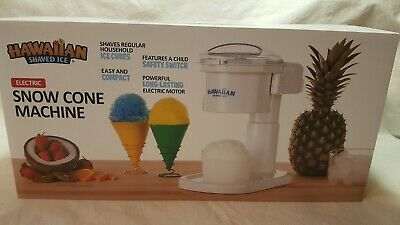 Snow Cone Machine S700 By Hawaiian Shaved Ice Snow Cones And Slushies In...