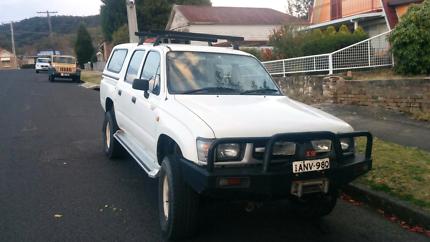 Toyota hilux 1999 dual cab diesel 4x4