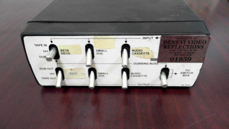 Vintage Fox Photo Tape Control Center