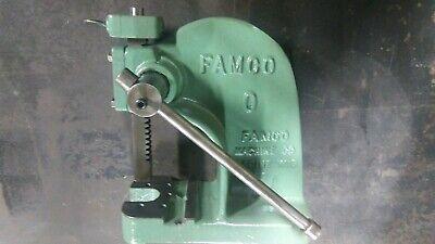 Famco 0 Arbor Press Double End Ram Depth Stop Machinist Mechanic