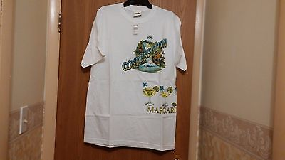 Unisex Vintage Margaritaville Las Vegas Short Sleeve Tee  Bnwt  Size L