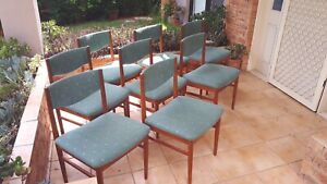 *Price reduced* Dining Chairs Mid Century Vintage Parker Fler