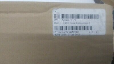 Hp Q6703-67108 Single Data Trailing Cable - For The Designjet Lx800 Printer