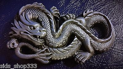 Awesome Antigue color DRAGON COOL Belt Buckle Full Metal USA seller