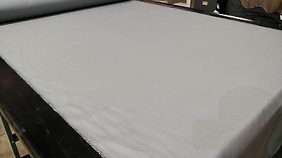 Light Gray 100% Cotton Canvas Duck Fabric By The Yard 56